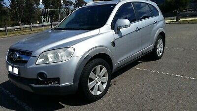 Holden Captiva LX CG 5 Speed Auto AWD MY08 7 seats 2008 LOW KMS