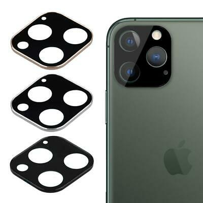 Back Camera Lens Protective Case Cover Tempered Glass For iPhone 11 Pro Max