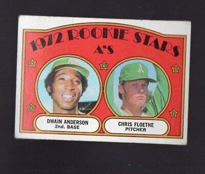 1972 Topps Rookie Stars #268 Oakland A's
