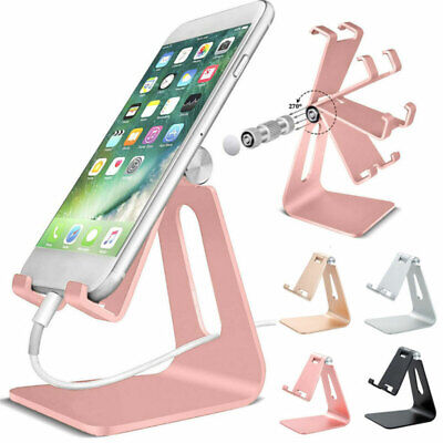 Universal Mobile Phone Cell Phone Holder Table Desk Stand for iPhone Samsung UK