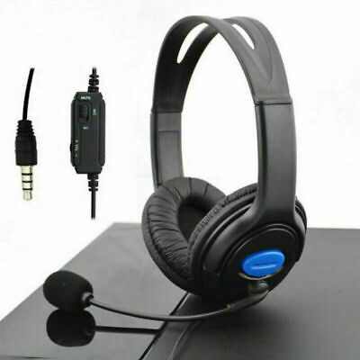 Premium Deluxe Gaming Headset PS4 Headphones Headset Style +Mic & live chat Gift