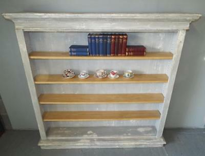 Superb Large Shabby Chic Farmhouse Feature Style Bookcase/shelf