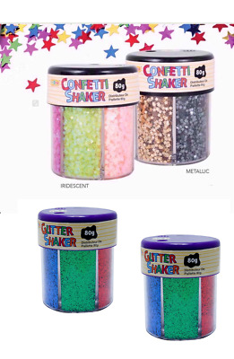 KW1351 Glitter Shaker Pots 113g Variety of Colours ** Free Shipping **