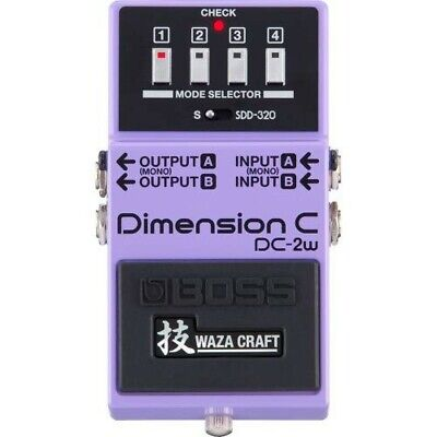 BOSS Dimension C DC-2W Waza craft Technique Bass effects purple Made In Japan