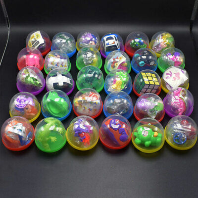 Toy Filled Balls Vending Capsules Bulk Surprise Toy Vending Machine Refills 65mm