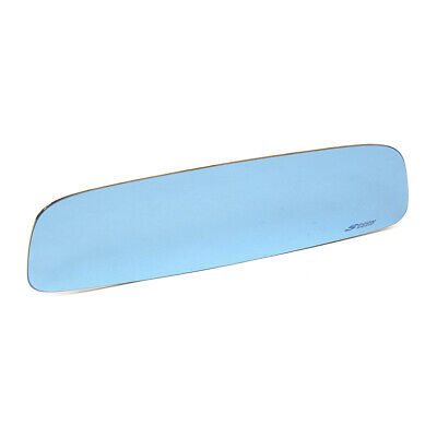 Spoon Blue Wide Rear View Mirror For Honda Jazz Fit Ge6 Ge8 9-14