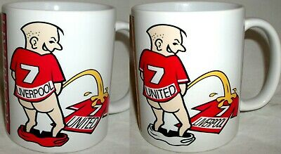 Funny Liverpool Manchester Football Rivalry Shirt Coffee Tea Mug Man United Gift