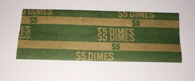25 US Flat Dime Coin Wrappers
