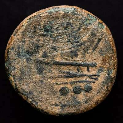 *Lucernae* Roman Republic  Triens Prow of galley Rome 211 B.C.
