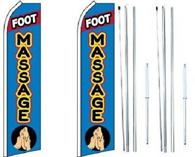 foot massage King Swooper Windless Flag Hardware not included Pack of 5