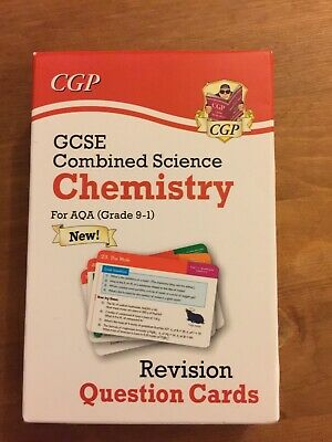 gcse Combined Science Chemistry revision cards aqa grade 9-1 New