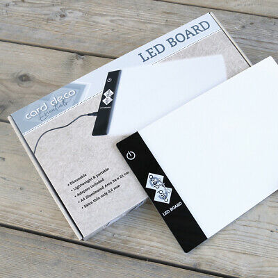 Card Deco Essentials Led Leuchtboard A4