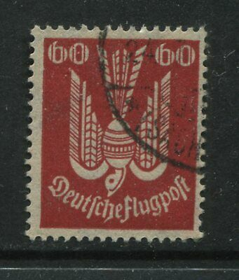 Germany 1922 Airmail 60 pf used