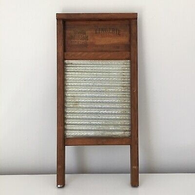 The Zinc King National Washboard Company 703 Lingerie Washboard Vintage
