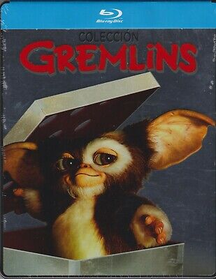 BLU-RAY Gremlins 1-2-  Zach Galligan; Phoebe Cates; Joe Dante PRECINTADO