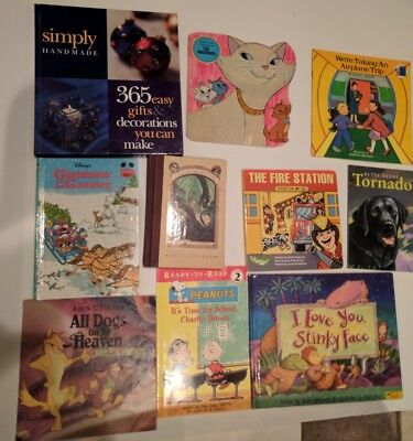 LOT OF 10 Childrens Books Bedtime & Story Time Etc Paperback & hardcover