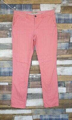 Fat Face Pink Cotton Blend Mens Chino Trousers Size UK 10