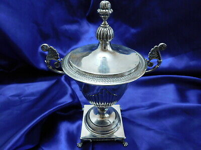 Lovely .800 Italian Silver Urn - Excellent Condition