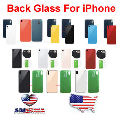 Battery Cover Glass Housing Rear Back Door Replacement For iPhone 8 X XS XS Max