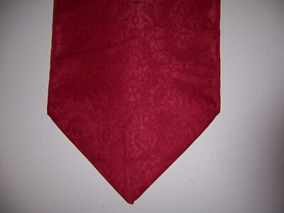 "Christmas Red Color Polyester Table Runner 12"" X 72"""