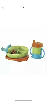 NEW Tupperware TUPPERKIDS FEEDING SET Toddler Infant Youth Bowl Sippy Cup