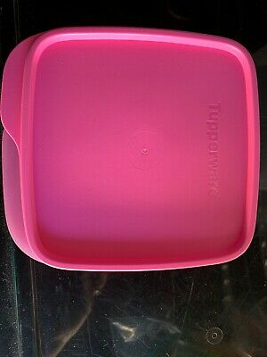 Brand New TUPPERWARE Square Lunch It Divided Dish W/Seal Container Microwavable