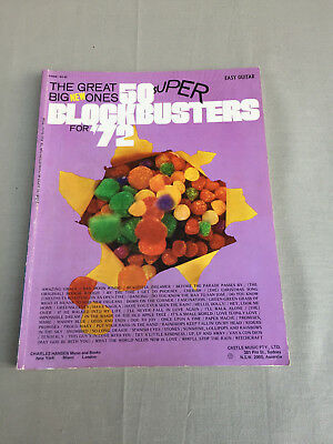 Vintage Music Songbook - 50 BLOCKBUSTERS for 1972