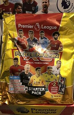 Panini Premier League 2019/20 Adrenalyn XL STARTER PACK X 10 Bundle 19/20 Season