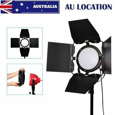Continuous Light LED Red Head Light 65W 5500K Video Light with Barn Doors