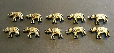 Craft Leather Leatherwork Elephant Studs Rivets Left Facing X10