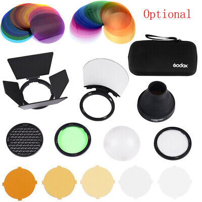Godox Single Grid Snoot Color Filters Diffuser For AD200 AD200Pro H200R V1 Flash
