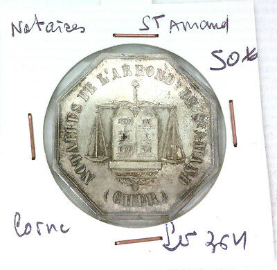 Token Notaries - st Amand - Punch Horn - Lerouge 364