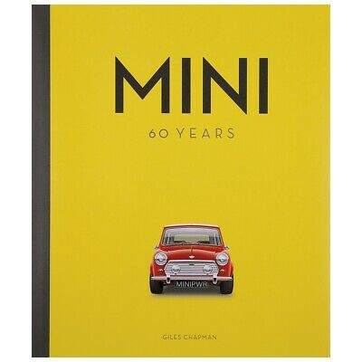 Giles Chapman Mini 60 Years book NEW part number 210-285 Moss Europe