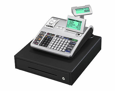 Seconds Casio SES3000 Cash Register Till - Twin Printer Station