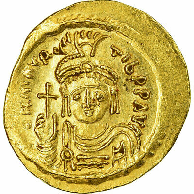 [#516520] Coin, Maurice Tiberius, Solidus, 583-601 AD, Constantinople