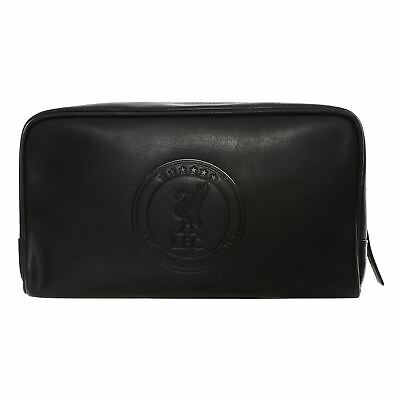 Liverpool FC UCL 6 Stars Leather Washbag LFC Official