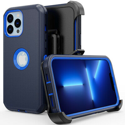 For iPhone 11 / 11 Pro Max Hybrid Shockproof Defender Case Cover With Belt Clip