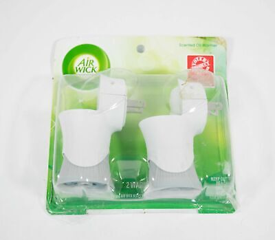 Air Wick Scented Oil Air Freshener Warmer ~No Refills~ Double Pack