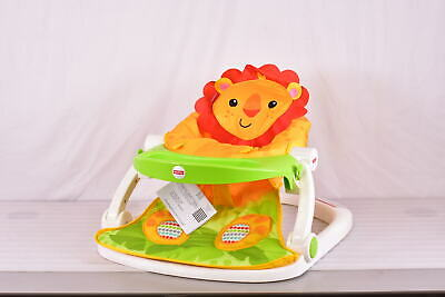 Fisher Price Sit Me Up Lion Floor Seat with Tray