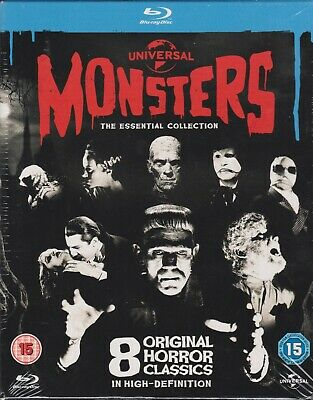 Blu-Ray Pack Monsters                    8 Peliculas                  Precintado