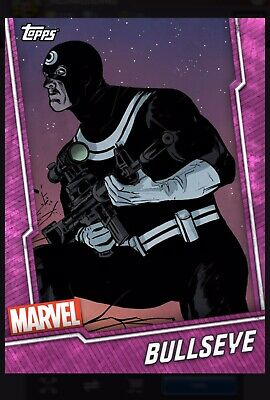 Topps Marvel Collect Bullseye Pink Tier 6 Card Wheel Digital Card