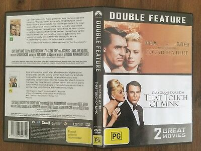 That Touch Of Mink / To Catch A Thief (DVD, 2014) Reg 4 VGC Doris Day Cary Grant