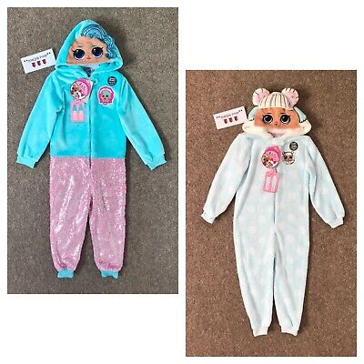 LOL Surprise Doll Girls All In One Pyjamas Age 4-5 5-6 Years Primark Loungewear