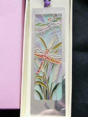 Past Times Dragonfly In Reeds Bookmark