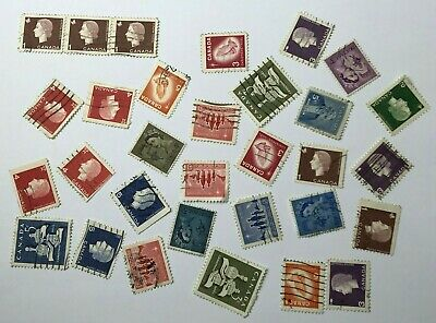 Mixed Job Lot of - Canada - Postage Stamps - Used - Off Paper