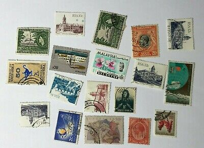 Job Lot of - Used - Off Paper - Mixed World - Postage Stamps - Inc South Africa