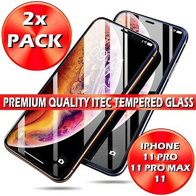 Screen Protector for New iPhone 11,11 Pro, 11 Pro Max Gorilla Tempered Glass