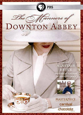 The Manners of Downton Abbey (DVD, 2015)
