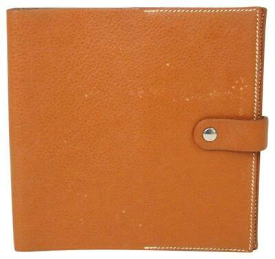 Hermes Leather Notebook Cover 867842
