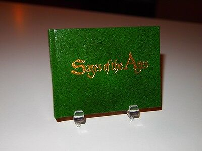 "1980  ""Sages of the Ages ""  printed by Black Cat Press miniature books"